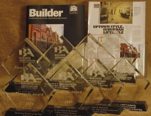 new home brochure and awards
